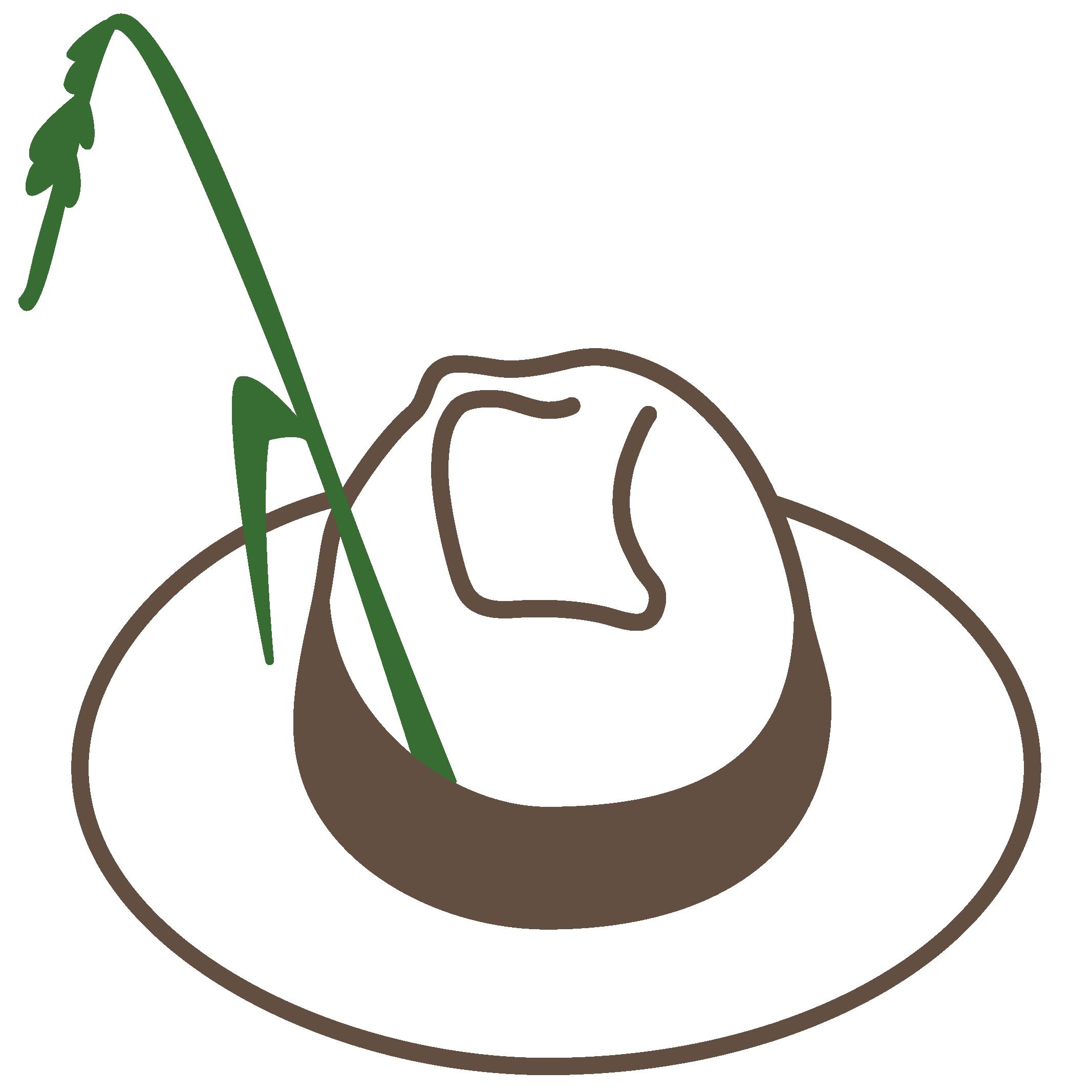 Naturmeister Logo - Hut des Gärtners